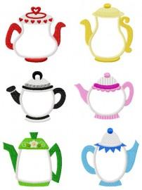 Tea Time Applique Collection